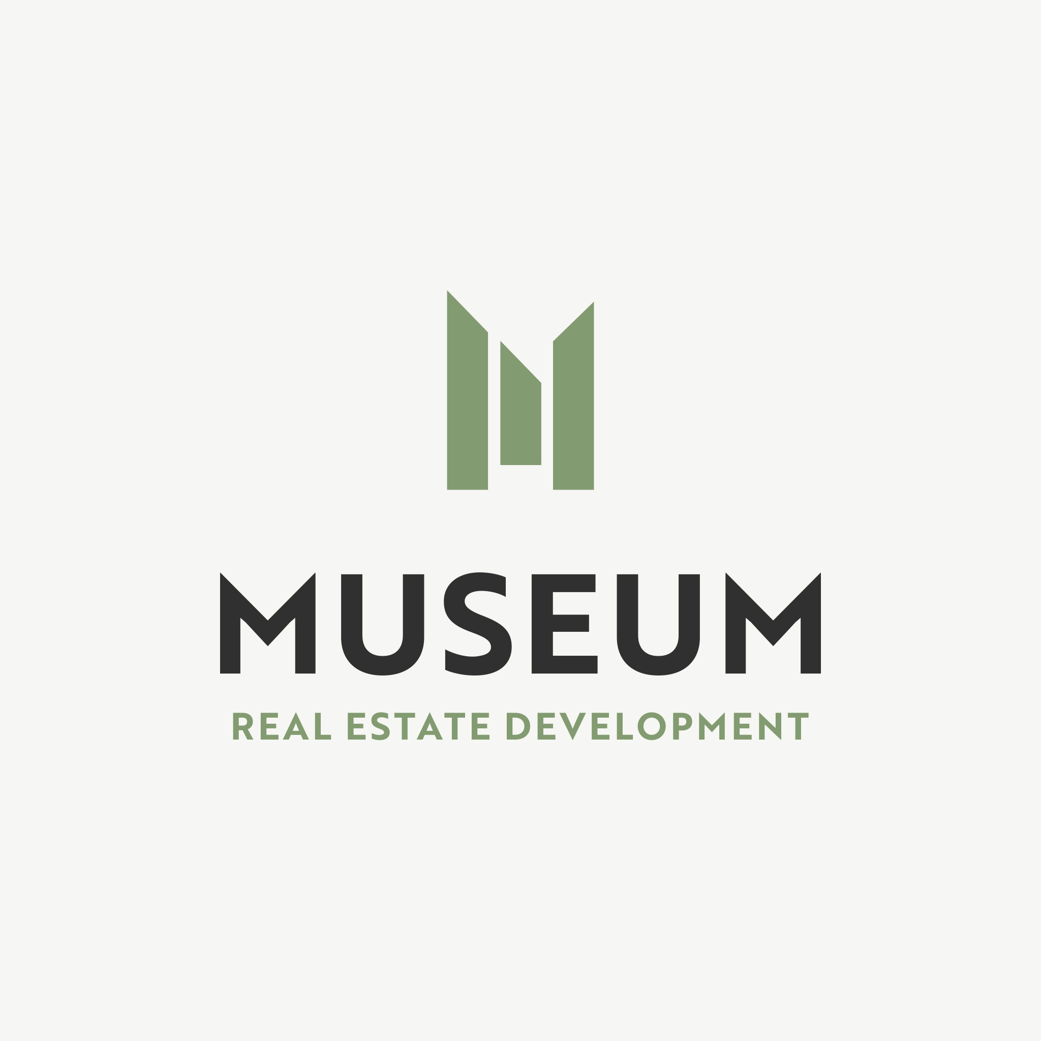 museum real estate logo