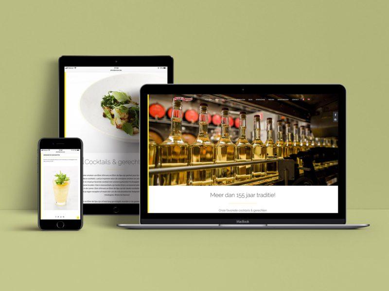 Elixir d'Anvers heeft een nieuwe website