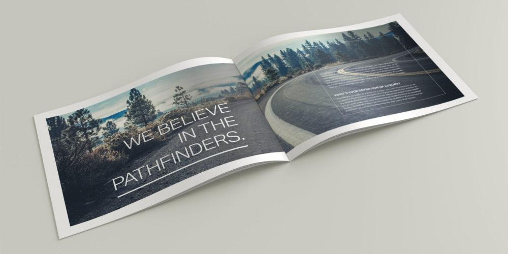 BMW Luxury brochure
