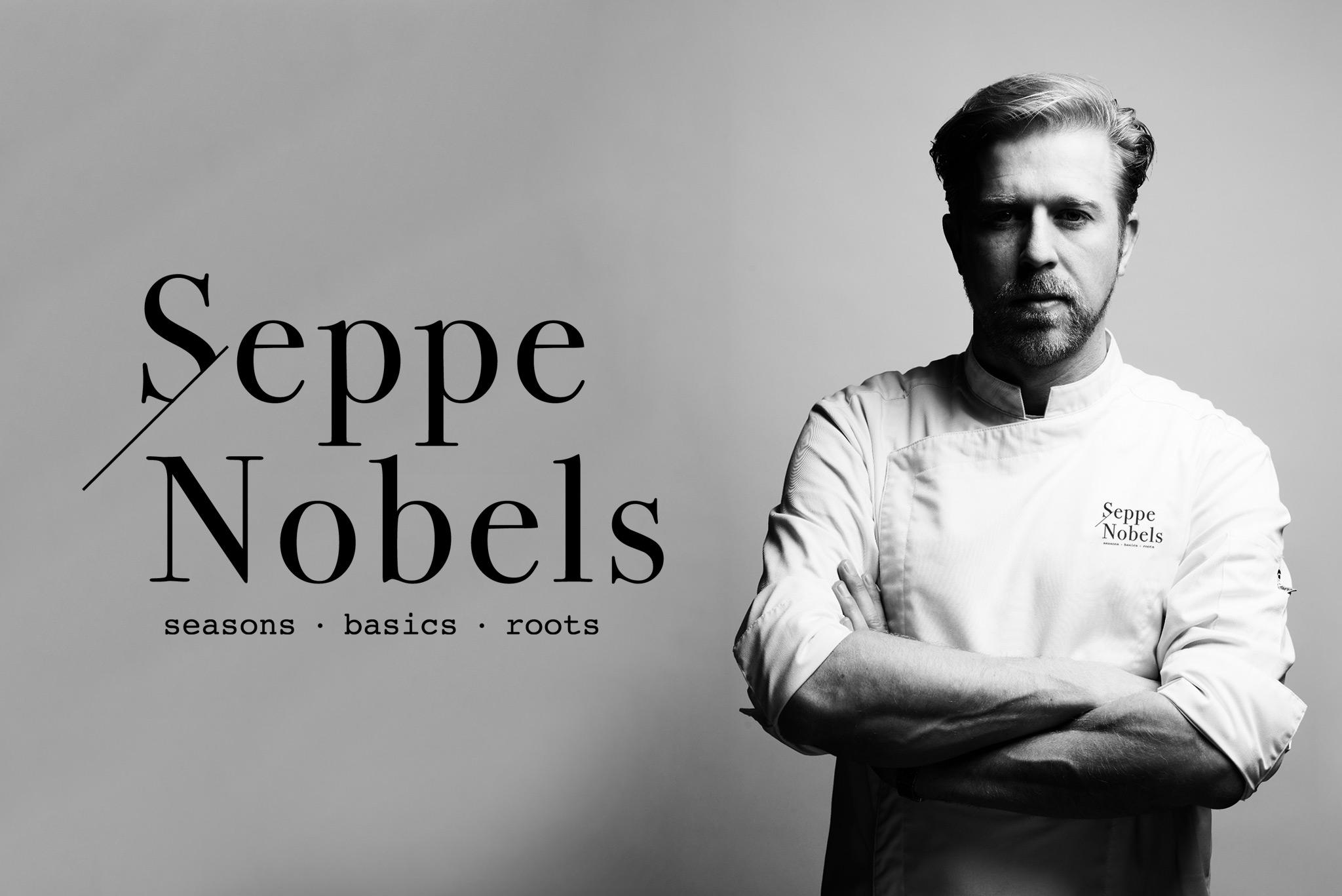 Logo design & branding Seppe Nobels green michelin star, Instroom, La Chapelle